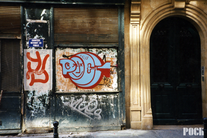 Spraycan on paper - Paris - 2000